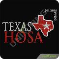 حجر الراين الإصلاح الساخنة تصميم خريطة تكساس
