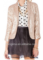 2013 New Design Sequin Winter Blazer HSM320
