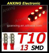 T10 5050 13SMD cree led bulbs super bright cree led bulb