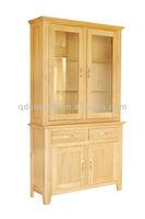 Solid Oak Wood 2 Door 2 Drawer Sideboard Top CO2161