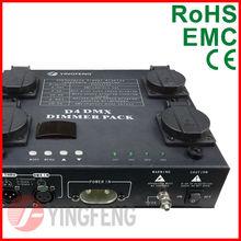 D4 4CH*1KW Digital DMX 512 Mini stage dimming system