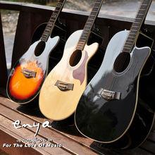 Enya Acoustic guitar E10 Series, musical instrument oil painting