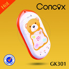 Colorful phone for children cheap kids moblie phone GK301