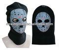 casco de punto sombrero gorro pasamontañas sombrero tapa máscara de fantasma cráneo sombrero de la cara con tres agujeros
