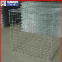 welded mesh galvanzed gabion baskets price /rock filled gabion baskets
