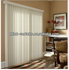 Vertical window blind design for homes