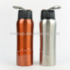 good shape stainless steel water bottles with plastic cap