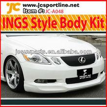 For 09 Lexus GS300 GS450 INGS Style Body Kit FRP Lip Kits
