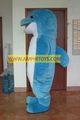 mavi köpekbalığı karikatür kostüm