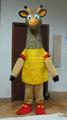 zürafa maskot kostüm