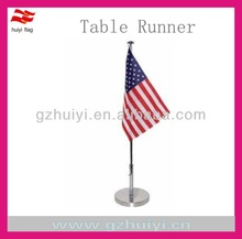 cheap custom national desk flags for office use
