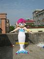 denizkızı maskot kostüm