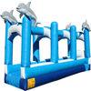 36' Dolphin Slip and Slide/Single Lane Inflatable water Slide
