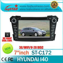 A8 Chipset S100 platform Car dvd for Hyundai I40 with 3G WIFI GPS /BT/TV/Radio/20 Disc CDC/IPOD/3-Zone POP/3D Flash...