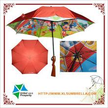 double layer cartoon gun umbrella