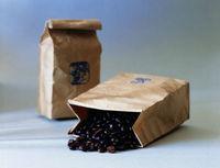 Custom Made Printing Logo Plastic Folding Coffee Bean Kraft Paper Bags