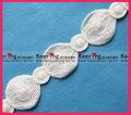 laço branco blusas de tecido acessório do vestuário