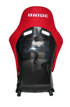 AK Hot red fabric cloth FRP BRIDE VIOS III racing seat