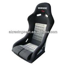 AK Hot black fabric cloth BRIDE VIOS III FRP racing seat