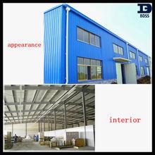 steel structure factory with Bureau Veritas certificaiton