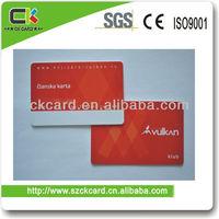 Plastic Membership Card Best seller!ISO 9001 Approved