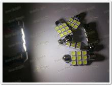 12V,24V 36mm / 39mm / 41mm 5050 9 LED 9 smd Festoon Dome LED Light Bulbs,car interior light cover
