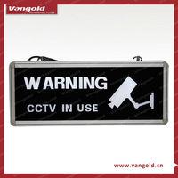 "Outdoor ""CCTV IN USE"" Camera"