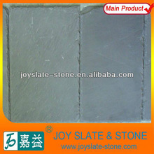 black rectangular ecological roof tile