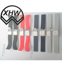 multi color strap watch