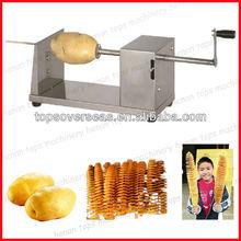 hot sale stainless steel potato chip stick cutter/tornado potato cutter machine for sale