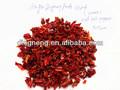 Secado de pimiento morrón rojo 100% base 2013 planta de cultivos