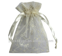 Jewellery and gift packing custom made organza bags pouches
