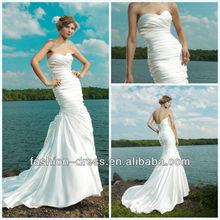 Beautiful Sweetheart Mermaid Taffeta Mother Of The Bride Beach Wedding Dress