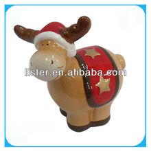 Christmas standing reindeer