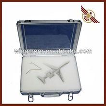 Small tool box case,Aluminum custom made box,Cheap aluminum tool case-WM332