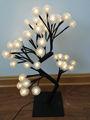 48l bianco natale ha portato luci alberoindoor per/decorazione esterna