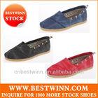New & cheap Espadrille canvas shoes stock for men & women closeout