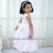 NEW! white long sleeveless crystal open sex photo dress for girls