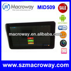 Dual camera Android 4.1 rk3306 dual core tablet