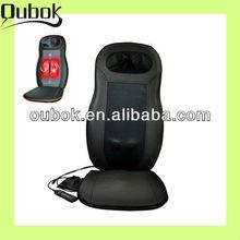 Neck and back kneading& shiatsu infrared massage cushion can use in car