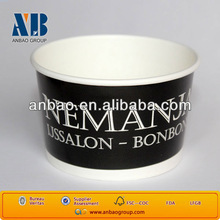 ice cream cup with dome lid