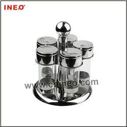 Five Heads Pepper And Salt Dispenser