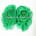 tecido de seda da flor broche lbh1301