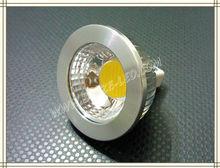 2013 Hot selling MR16 5W DC12V LED COB spotlight 80degrees Warm White / Cool White