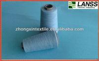 ring spun melange polyester viscose yarn 30s 40s