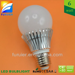 6w led bulb 360 degrees, wide beam angle