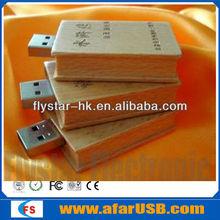 Wooden usb flash drive,USB flash memory stick USB pen stick popular high speed flash memory,free data load pen drive usb