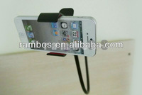 Universal Black Lazy Bed Desktop Car Mount Holder for Iphone 5 4 4S