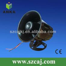 Low price waterproof 6 tone 12V outdoor siren
