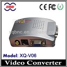 BNC / RCA / S-Video / VGA To VGA Adapter Converter CCTV To VGA